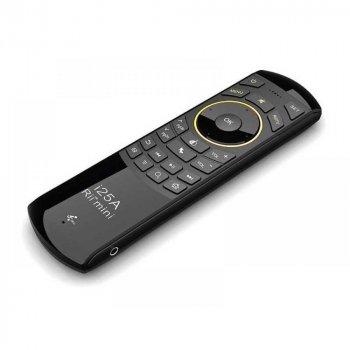 Аэропульт Rii mini i25A Black з гіроскопом, мікрофоном і клавіатурою