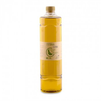 Масло льняное холодного отжима Organic Eco-Product, 1000 мл