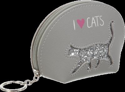 Кейс для монет ZiBi Cat Lover 1 отделение (ZB.702203)