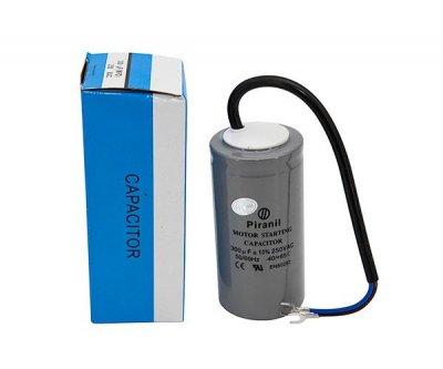 Пусковий Конденсатор 300 мкФ 250 В (300uF 250V) CD60 для електродвигунів (Piranil)