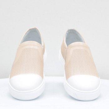 Сліпони Mida пудрово-білі 56158