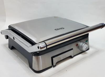 Професійний електричний гриль DSP KB1045 з контролем температури, знімними пластинами 1800 Вт
