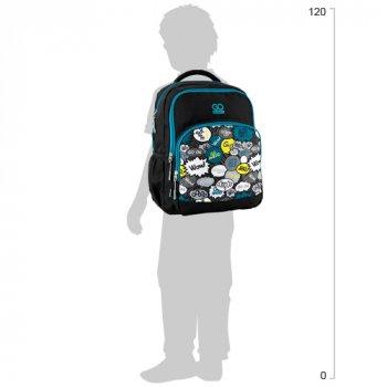 Рюкзак школьный GoPack Education для мальчиков 450 г 38x28x18 20 л Just go (GO20-113M-5)