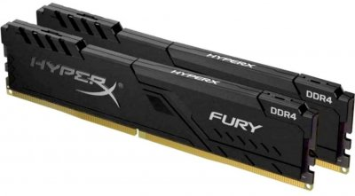Оперативна пам'ять HyperX DDR4-3600 65536MB PC4-28800 (Kit of 2x32768) Fury Black (HX436C18FB3K2/64)