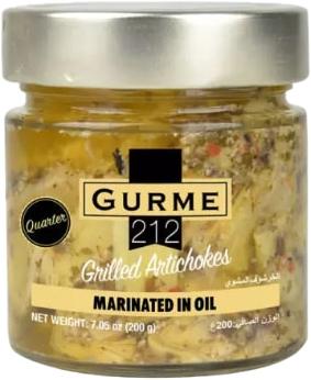 Артишок Gurme 212 с орегано и чесноком 200 г (191822004397_191822005066)