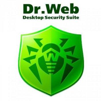 Антивірус Dr. Web Desktop Security Suite + Компл зах/ ЦУ 13 ПК 3 роки ел. осіб (LBW-BC-36M-13-A3)