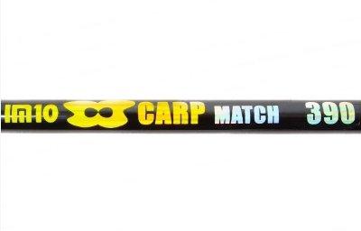 Матчевый спиннинг штекерный EOS Carp Match IM10 8-25g 3,9m