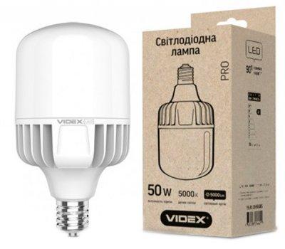 Світлодіодна лампа VIDEX A118 50W E40 5000K 220V (24310)