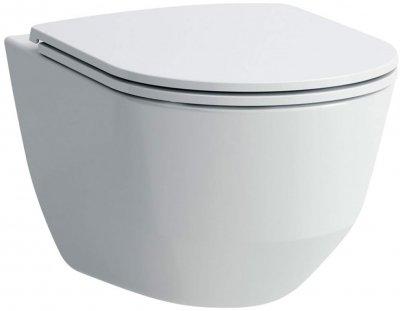 Інсталяція IMPRESE i8120 з панеллю змиву Pan i8100 + унітаз LAUFEN Pro Rimless H866957 із сидінням Slim Soft Close