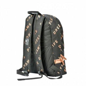 Подростковый рюкзак YES T-101 Private черный/золото 558407