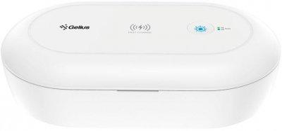 Стерилизатор для мобильного телефона с функцией беспроводной зарядки Gelius Pro UV Disinfection Box GP-UV001+ Wireless Charging (2099900794490)