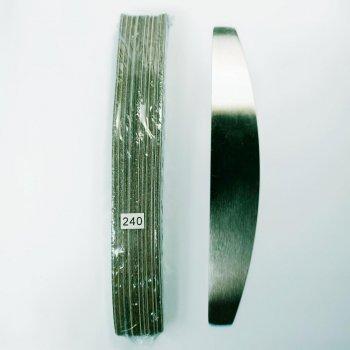 Металева пилка з змінними файлами-абразивами 240 грит 50шт