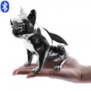 Bluetooth-колонка Aerobull S5 DOG METALLIC з радіо , USB , сіра