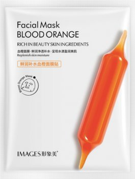 Высоковитаминная тканевая маска для лица Images Blood Orange Facial Mask 25 г (6941349313977)