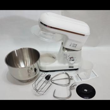Тістоміс міксер стаціонарний DSP KM 3007 Pro 1200 Вт для дому з металевої чашею для тіста соусів збивання білка вершків крему і майонезу (KM 3007 D)
