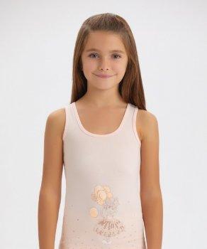 Майка для девочки Baykar 4162,персиковая