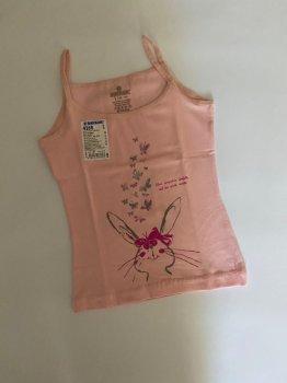 Майка для девочки Baykar 4168, розовая