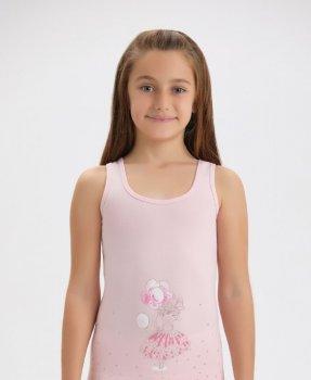 Майка для девочки Baykar 4162, розовая
