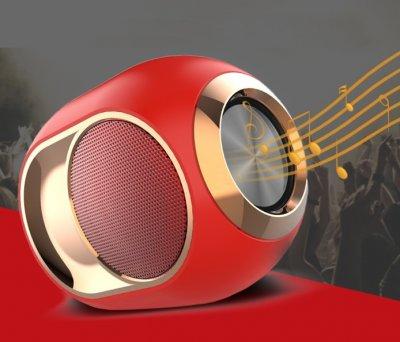 Bluetooth-колонка SKY Phantom X6 TWS з функцією Hands-Free Red