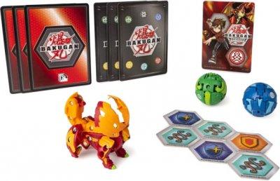 Игровой набор Spin Master Bakugan Armored Alliance из трех бакуганов Гидориус Пайрус (SM64424-16) (778988550441)