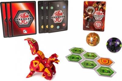 Игровой набор Spin Master Bakugan Armored Alliance из трех бакуганов Холкор Пайрус (SM64424-18) (778988550441)
