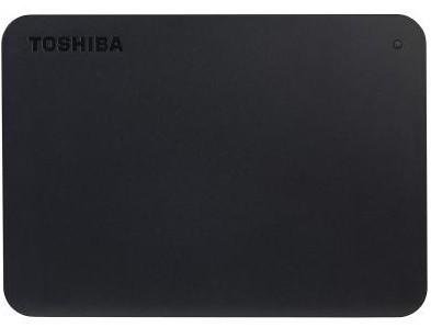 """Жорсткий диск (HDD) Toshiba Canvio Basics Black HDD 2.5"""", USB 3.0, 1.0 TB, зовнішній (HDTB410EK3AA)"""