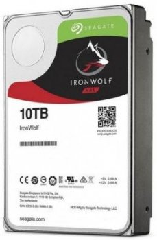 Жорсткий диск (HDD) Seagate IronWolf NAS 7200rpm 256MB (ST10000VN0008) (ST10000VN0008)