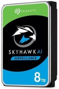 Жорсткий диск (HDD) Seagate SkyHawk Surveillance 256MB (ST8000VX004) (ST8000VX004)