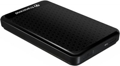 Жорсткий диск (HDD) 1000Gb Transcend Storejet USB 3.0 Black (TS1TSJ25A3K)