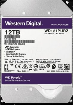 """Жорсткий диск (HDD) Western Digital 3.5"""" 12TB (WD121PURZ)"""