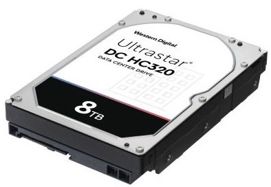 "Жорсткий диск (HDD) Western Digital 3,5"" 8TB SAS 256MB 7200rpm (0B36400/HUS728T8TAL5204)"