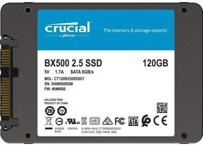 "SSD-накопичувач MICRON 2.5"" 120GB (CT120BX500SSD1)"