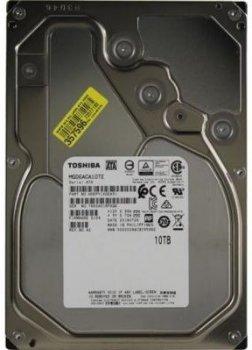 "Жорсткий диск (HDD) Toshiba 3.5"" 10TB 256MB 7.2 K RPM SATA 6Gb/s (MG06ACA10TE)"