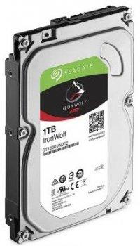 Жорсткий диск (HDD) Seagate IronWolf NAS 5900rpm 64MB (ST1000VN002) (ST1000VN002)