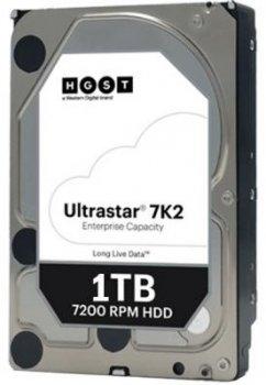 Жорсткий диск (HDD) Western Digital (HGST) Ultrastar 7K2 7200rpm 128MB (HUS722T1TALA604/1W10001) (1W10001)