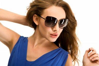 Очки солнцезащитные женские с поляризационной линзой black