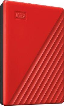 """Накопичувач зовнішній HDD 2.5"""" USB 2.0 TB WD My Passport Red (WDBYVG0020BRD-WESN)"""