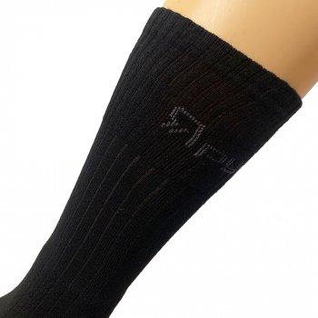 Шкарпетки трекінгові зимові Ярунь Берець високі чорні