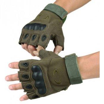 Рукавички без пальців Oakley HJG00377 зелений хакі