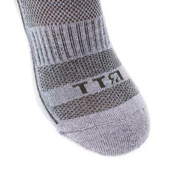 Шкарпетки трекінгові літні Ярунь ТТЯ низькі сірі