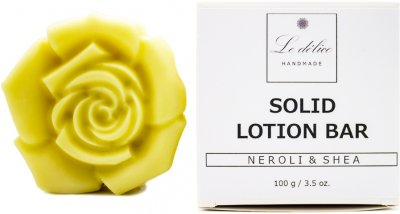 Натуральный твердый лосьон для тела Le Delice Нероли и Ши 100 г (1187251202217)