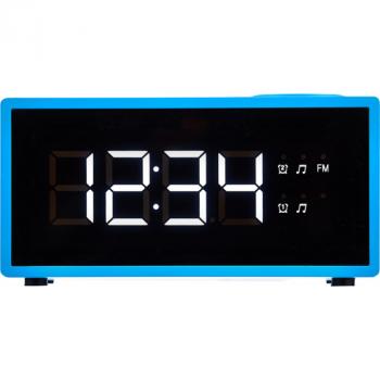 Радіо-годинник Ecg RB-040-Blue