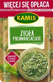 Упаковка приправы Kamis Прованские травы 25 г х 2 шт (5900084267397)
