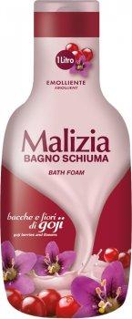 Гель-пена для душа и ванны Malizia Ягоды и цветы Годжи 1000 мл (8003510025121)