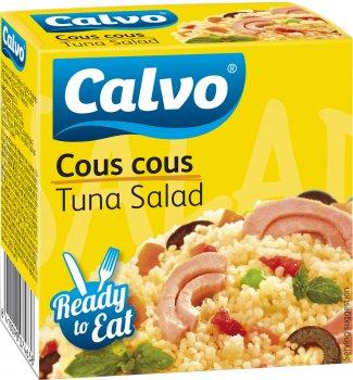 Салат с тунцом Calvo с кус-кус 150 г (8410090074638)