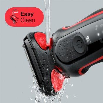 Електробритва BRAUN Series 5 50-R1200s BLACK/RED