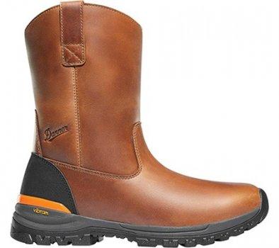 "Чоловічі чоботи Danner Stronghold 10"" Non-Metallic Wellington Boot Brown Full Grain Leather (134542)"