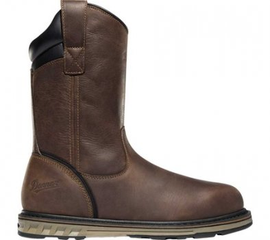 "Мужские сапоги Danner Steel Yard 11"" HW Wellington Steel Toe Boot 12562 Brown Full Grain Leather (149801)"