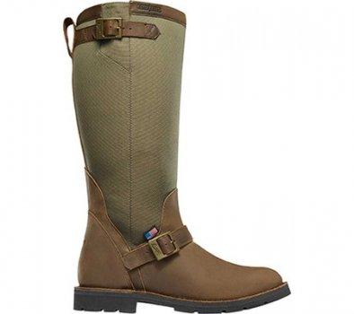 "Чоловічі чоботи Danner San Angelo 17"" Snake Boot Brown Full Grain Leather/Polyester (142131)"