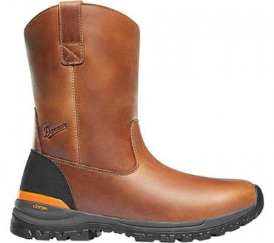 "Мужские сапоги Danner Stronghold 10"" Wellington Boot Brown Full Grain Leather (134539)"